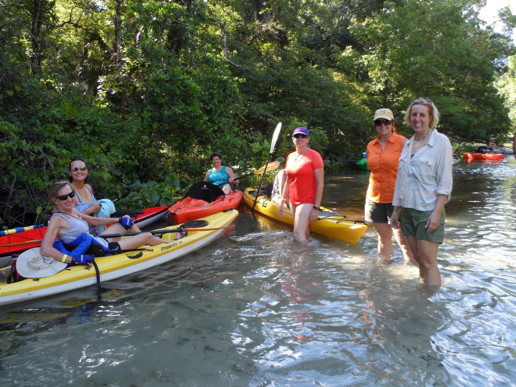 paddling group